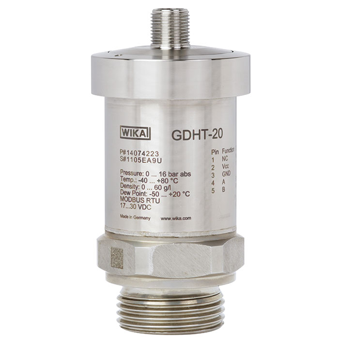 Transmitter with MODBUS® output - GDHT-20 - WIKA Thailand